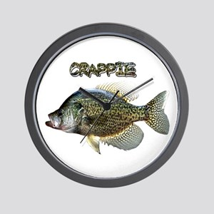 Crappie Wall Clock