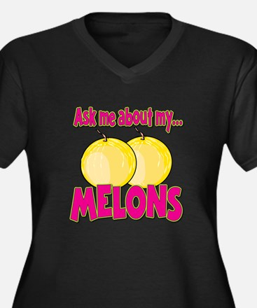 Funny Ask Me About My Melons Funny Innuendo Women'
