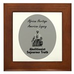 Sojourner Truth Framed Tile