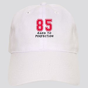 85 Year birthday designs Cap