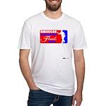 Cornhole Finals Fitted T-Shirt