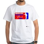 Cornhole Finals White T-Shirt