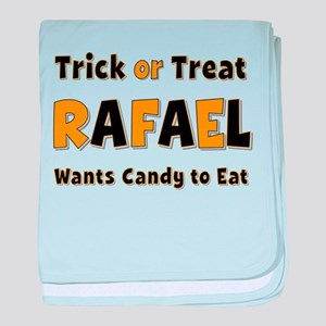 Rafael Trick or Treat baby blanket