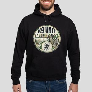 K9 Unit Military Working Dogs Hoodie (dark)