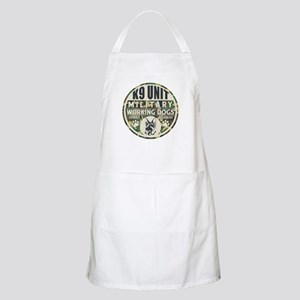 K9 Unit Military Working Dogs Apron