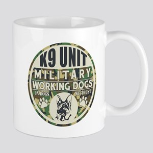 K9 Unit Military Working Dogs Mug