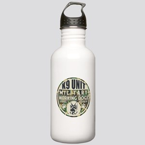 K9 Unit Military Worki Stainless Water Bottle 1.0L