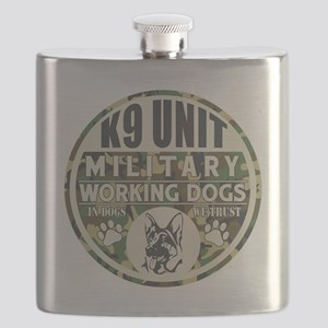 K9 Unit Military Working Dogs Flask