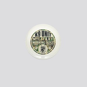 K9 Unit Military Working Dogs Mini Button
