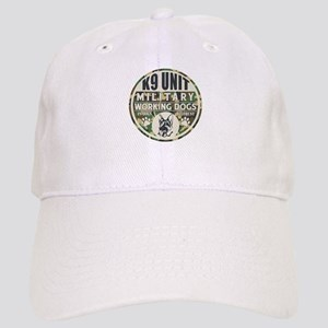 K9 Unit Military Working Dogs Cap