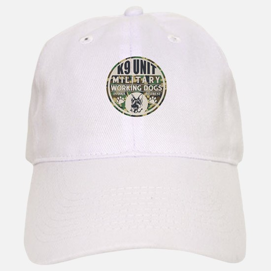 K9 Unit Military Working Dogs Baseball Baseball Cap