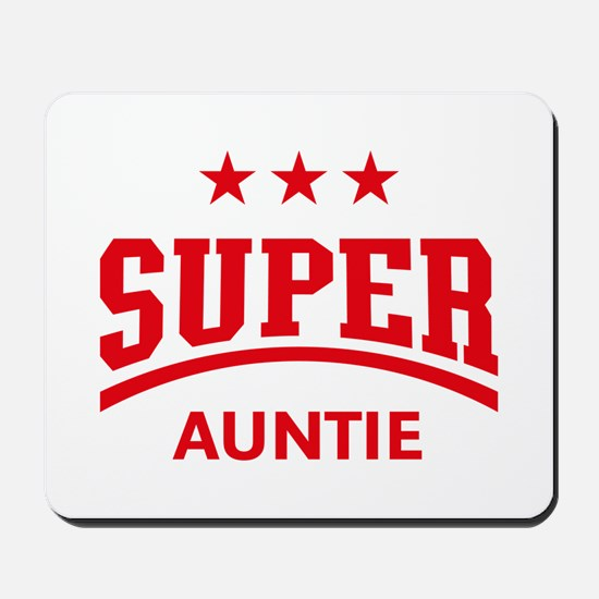 Super Auntie (Red) Mousepad