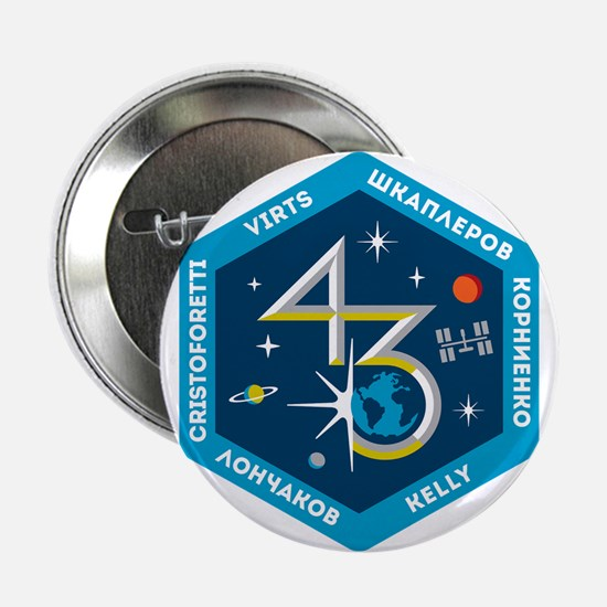 """Expedition 43 2.25"""" Button"""
