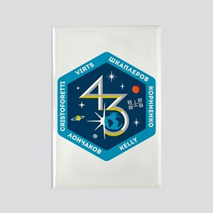 Expedition 43 Rectangle Magnet