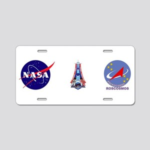 Expedition 41 Aluminum License Plate