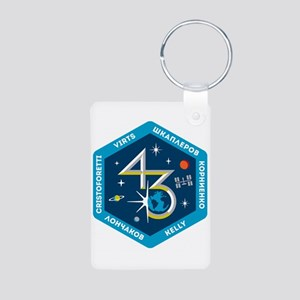 Expedition 43 Aluminum Photo Keychain Keychains