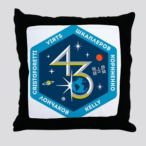 Expedition 43 Throw Pillow