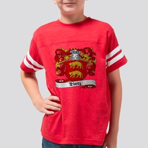Dietz Family Youth Football Shirt