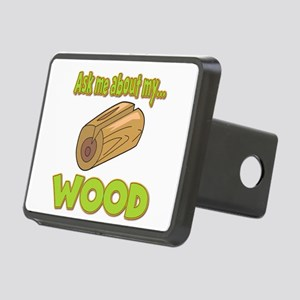 Ask Me About My Wood Funny Innuendo Design Rectang