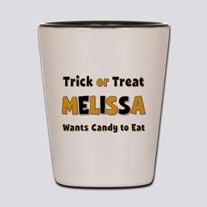 Melissa Trick or Treat Shot Glass