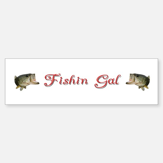 Cute Fishin Sticker (Bumper)