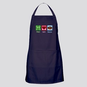 Peace Love Donuts Apron (dark)