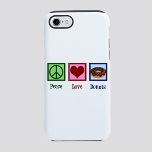 Peace Love Donuts iPhone 8/7 Tough Case