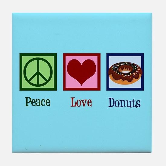 Rainbow Heart Tile Coaster
