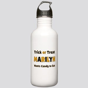Marilyn Trick or Treat Water Bottle