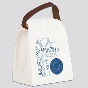 ACA-WHAT Canvas Lunch Bag