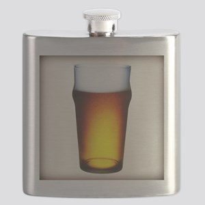 Stylized Beer Glass Flask