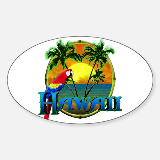 Hawaiian Sunset Bumper Stickers