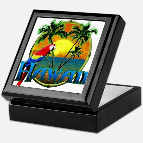 Hawaiian Sunset Keepsake Box