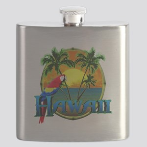 Hawaiian Sunset Flask