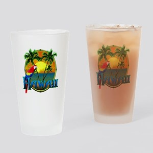 Hawaiian Sunset Drinking Glass