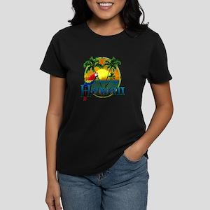 0392fc68 Hawaiian Sunset Women's T-Shirts - CafePress