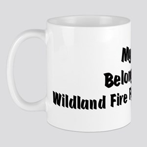 My Heart: Wildland Fire Fight Mug