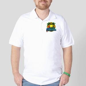 Hawaiian Sunset Golf Shirt
