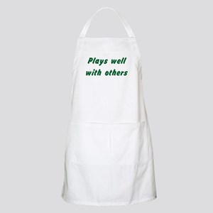 Plays Well With Others BBQ Apron
