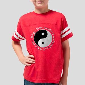 Zen thing dark Youth Football Shirt