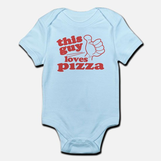 This Guy Loves Pizza Body Suit