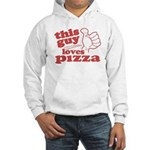 This Guy Loves Pizza Hoodie