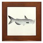 Channel Catfish 2f Framed Tile