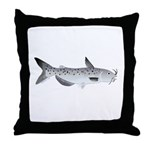 Channel Catfish 2f Throw Pillow