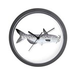 Channel Catfish 2f Wall Clock