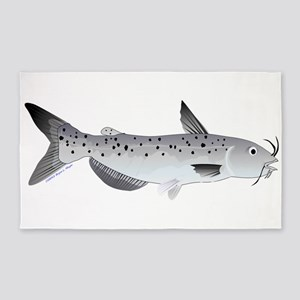 Channel Catfish 2f 3'x5' Area Rug