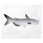 Channel Catfish 2f King Duvet