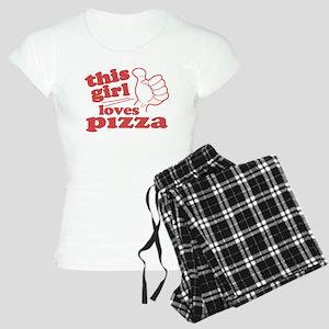 This Girl Loves Pizza Pajamas