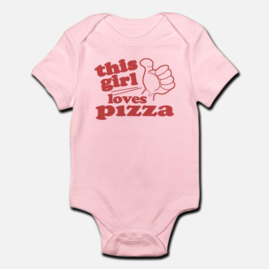 This Girl Loves Pizza Body Suit