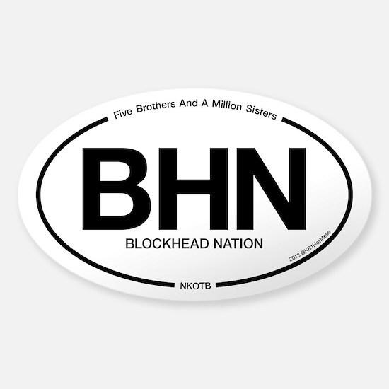 BlockHead Nation: NKOTB Decal